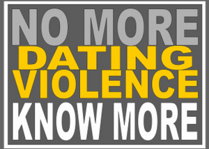 no more dating violence